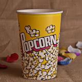 Tazza o benna di carta personalizzata del popcorn per il cinematografo