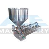 100-1000ml dos semi-automático doble cabeza de pistón líquido boquilla neumática máquina de envasado de leche, aceites, ungüento, miel