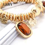 Heiße Form-Raupe-Acrylcharme-Armband-Schmucksache-Goldarmband-Entwürfe