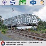 重い品質材料交通機関のための鋼鉄橋フレーム