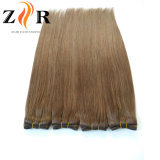 Color marrón doble llamado Federación Secador de cabello humano trama pelo Remy