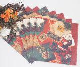 Neues Jahr-Entwurfs-Jungfrau-hölzerne Massen-Tafelservietten gedruckt