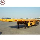 고품질 Sinotruck HOWO 대형 트럭 평상형 트레일러 콘테이너 트레일러