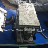 Giratorio automático completo de soplado de aire de tres colores de la máquina de molde Injction