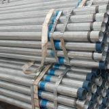 Pijp van het Staal van Mej. Hot Dipped Galvanized Steel Pijp de ERW Gegalvaniseerde die om Pijp Pipe/Gi voor Gas/de Post van de Serre/van de Omheining/de Watervoorziening van de Bouw wordt gegalvaniseerd