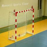 China Facroty PVC Venta pisos deportivos para el baloncesto / Corte de Balonmano