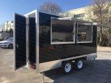 La livraison de nourriture de la rue Hotdog Panier/restauration/Snack remorque remorque/chariot de Fast Food Ce mobile