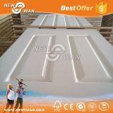 White Primer HDF pele de porta moldada