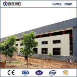 Galvanisiertes Stahlkonstruktion-vorfabriziertes Haus für Stahlkonstruktion-Werkstatt-Aufbau