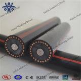 Cavo di alluminio sotterraneo di Urd di potere di distribuzione del conduttore di sistemi MV 105 5kv 8kv 15kv 25kv 28kv del certificato dell'UL fatto in Cina
