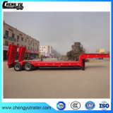 2 assen 35 Ton Aanhangwagen van Lowbed van de Semi