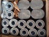 Discos circulares tejidos /Brass inoxidables del filtro de la forma del anillo del acoplamiento de alambre de Balck del acero