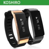 OLEDの表示Bluetooth 4.0の人間の特徴をもつIosのためのスマートな時計用バンド