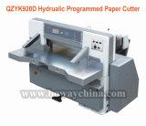 Boway 92cm 920mm Papierschnitthöhe-großes Format-hydraulische programmierte Papierschneidemaschine-Maschine