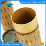 Regalo de Navidad personalizadas Grosor del Papel de Embalaje Caja de cilindro