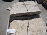 Черный камень базальта сетки базальта камня сада вымощая камня дешевый