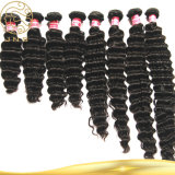 100%の加工されていないブラジルの毛の拡張100%人間の毛髪