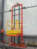 La plataforma de elevación Elevación Industrial Equipos para la cabina de pintura