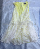 Balle Lady Silk Dress Summer Wholesale Used Clothing pour Arican Market (FCD-002)