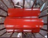 80-95shore una hoja del poliuretano, hoja de la PU, poliuretano Rod, PU Rod para el sello industrial con color rojo