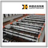 Panneau de toit de tuiles en acier double couche machine de formage de rouleau