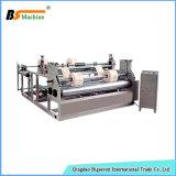 Rodillo del papel de la alta calidad que raja la máquina el rebobinar