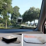 Usado esteira pegajosa mágica do enxerto do gel de silicone do carro na anti para o telefone