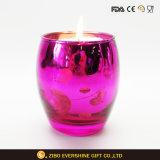 カラー特別なガラス蝋燭ホールダーの瓶