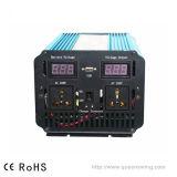 3000W 12V/24VDC 110V/220VAC onda senoidal pura Inversor de energia com a UPS 25um carregador (QW-P3000UPS)