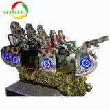 대화식 가상 현실 경험 360 정도 로봇 Vr 영화관 시뮬레이터 9d Vr 실내 경주 게임 기계
