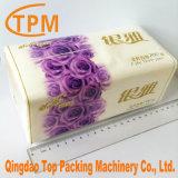 Tejido de servilleta de papel tisú de embalaje máquinas de embalaje