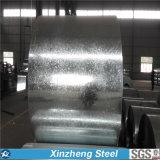 Bobina d'acciaio galvanizzata laminata a freddo per coprire con il lustrino normale
