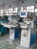 CD 4 색깔 컨베이어 패드 인쇄 기계