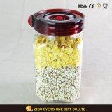 Tarro del vidrio del Stash del almacenaje del alimento del envase de cristal