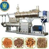 Salida de Differend de 100kg/h a la alimentación de los brids de los pescados de perro de animal doméstico 1500kg/h que hace la máquina