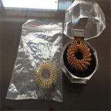 Elegante y Hermoso anillo de acupuntura con una caja de cristal