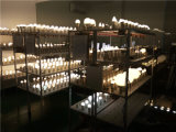 alumínio 9W + lâmpada plástica do diodo emissor de luz com Ce & RoHS
