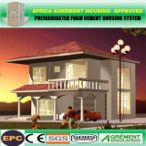 Edifício Home da casa modular Prefab pré-fabricada clara da construção de aço do aço