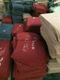 Stuoia comune del ricamo della fibra con la protezione antiscorrimento del PVC