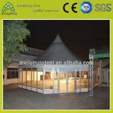 알루미늄 단계 성과 큰 사건 Repast PVC 천막