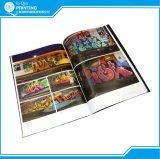 Projeto e folheto do compartimento do catálogo do livro da cópia