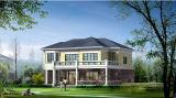 가벼운 강철 구조물 Prefabricated 움직일 수 있는 살아있는 집 (KXD-pH33)