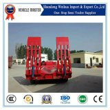 Heavy Duty Lowbed semi remolque de la fábrica China