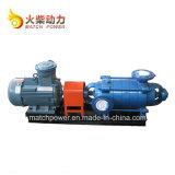 55kw 다단식 원심 펌프 디젤 엔진 수도 펌프는 250m 46m3/H를 놓았다