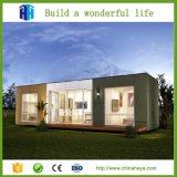 Casas luxuosas modernas Prefab de aço pré-fabricadas do recipiente da casa de campo