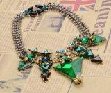 Luxury Full工場ブランドの三角形のネックレスの女性ダイヤモンドネックレス