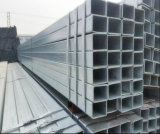 Baumaterial Q195/Q235 heißes BAD galvanisiertes quadratisches Rohr/Stahlgefäß