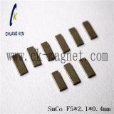 Ck208 SmCoの磁石の等級F5*2.1*0.4mm
