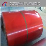 La bobine en acier colorée/la bobine en acier enduite par couleur/a enduit la bobine d'une première couche de peinture en acier