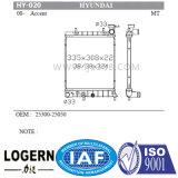 Radiador de carro para a Hyundai Accent'99- Mt 25300-25050